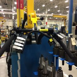 Manipulator Controls showing lift, clamp, and rotate